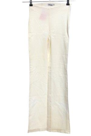 Toi & Moi Pantalone elasticizzato bianco stile casual