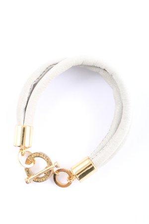 Tokyo Jane Armband hellgrau-goldfarben Casual-Look