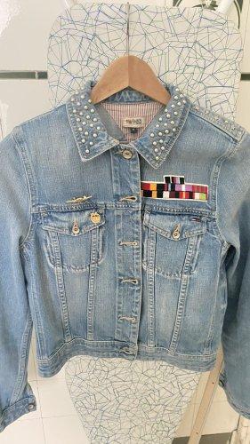Hilfiger Denim Veste en jean bleu azur tissu mixte