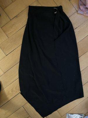 Asos Kopertowa spódnica czarny Poliester