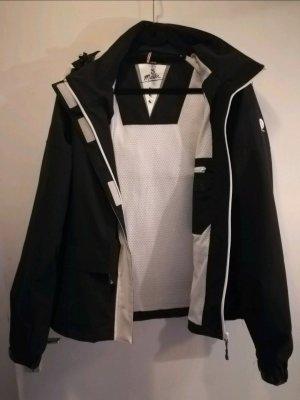 Dreimaster Manteau de pluie blanc-noir