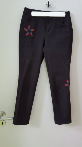 Desigual 7/8 Length Trousers multicolored cotton