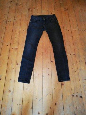 Ann Christine Slim jeans donkergrijs-antraciet
