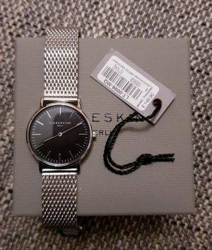Liebeskind Berlin Montre avec bracelet métallique noir-argenté