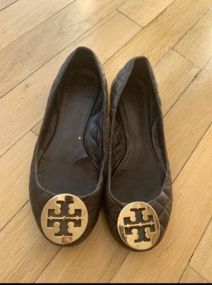 Tory Burch Ballerina Mary Jane marrone-marrone chiaro
