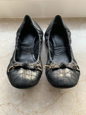 Dior Składane baleriny czarny