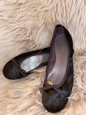 Mary Jane Ballerinas black brown-dark brown