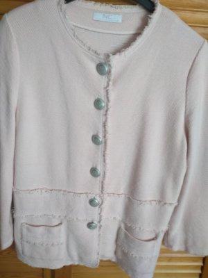 Nice Connection Korte blazer zilver-rosé