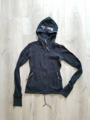 Tolle Bench Strickjacke in schwarz, Gr. S