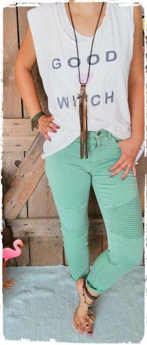 edc by Esprit Biker Jeans mint cotton