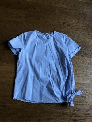 Tolle Bluse hellblau Größe 36