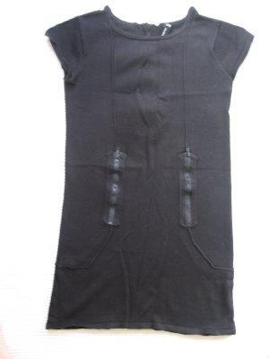 tolle bluse, minikleid, tunika, schwarz gr. xs 34 blinddate
