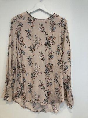 Tolle Bluse mit Blumenmuster Gr. 36-38