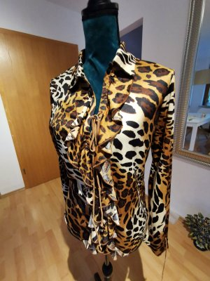 Tolle Bluse mit Leopardenmuster