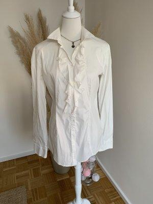 Aglini Blusa de manga larga blanco Algodón