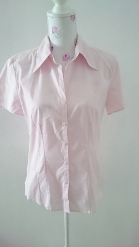 Milano Short Sleeved Blouse light pink