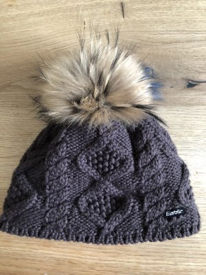 Eisbär Bobble Hat dark brown