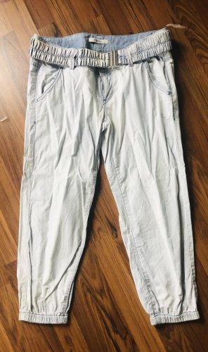 Tolle Boy fit Hose 3/4 dünner Jeansstoff Gr. M