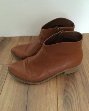 Censored Ankle Boots brown