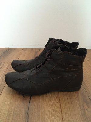 Ariane Low boot brun foncé
