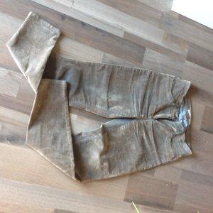 Brax Pantalone cinque tasche blu acciaio-marrone chiaro