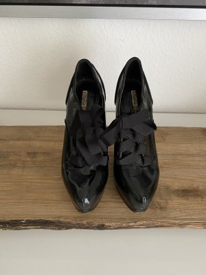 Buffalo London Plateauzool pumps zwart