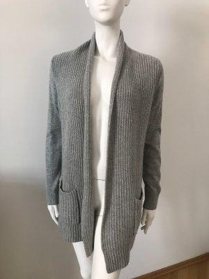 Michael Kors Veste en tricot gris clair cachemire
