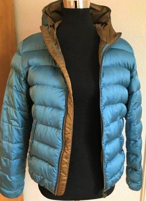 Colmar Down Jacket light blue-light brown synthetic fibre