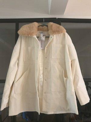 Ganni Oversized Jacket natural white
