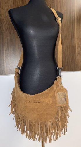 Tolle Cowboysbag Echt Leder Handtasche