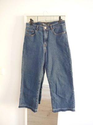Amisu 7/8-jeans blauw Katoen