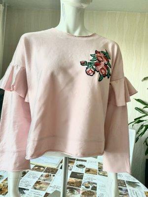 Tolle Damen kurze Sweatshirt Gr M MANGO