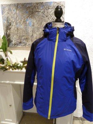 Columbia Podwójna kurtka niebiesko-fioletowy