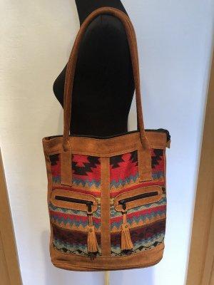 handmade Torba shopper Wielokolorowy