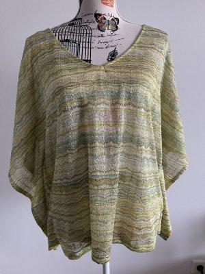 H&M Tunique jaune primevère-vert clair