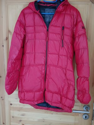 Zabaione Quilted Coat red