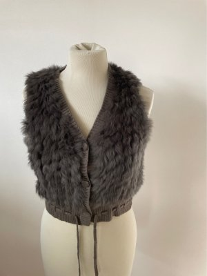 Betty Barclay Fur vest taupe