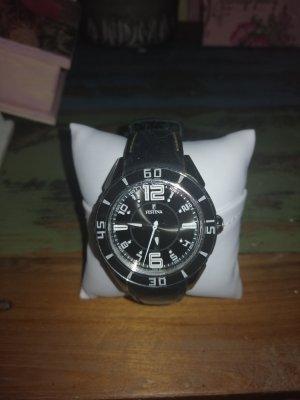 Festina Analoog horloge zwart-zilver