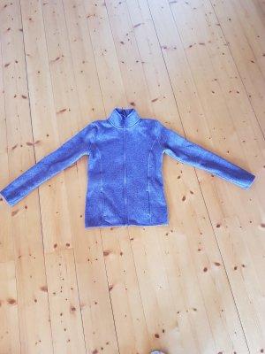 Alive Fleece jack grijs-paars