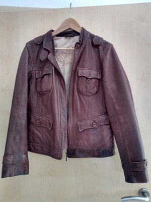 Tolle Frühjahrsjacke im Lederjacken-Look - guter Zustand