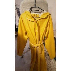 Tolle gelbe Regenjacke Parka Ostfriesennerz Vintagestyle