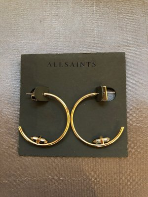 All Saints Ear Hoops gold-colored