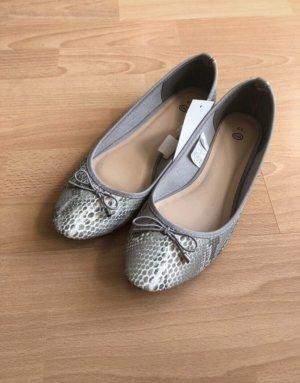 C&A Classic Ballet Flats light grey-white
