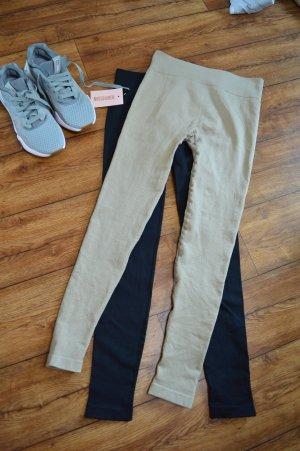 Missguided Pantalone da ginnastica beige-beige chiaro