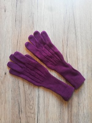 Falke Gants en tricot multicolore
