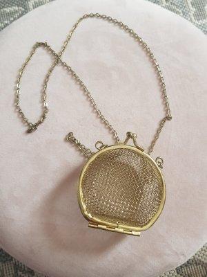 Vintage Handbag gold-colored