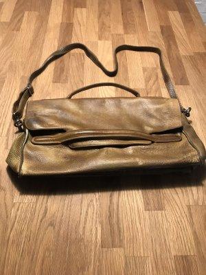 Tolle Handtasche, Vintage-Look, Echtleder