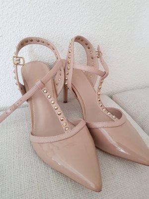 Carvela High Heels cream-nude