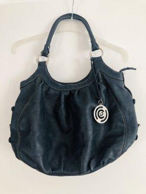 new bags Sac hobo gris ardoise polyuréthane