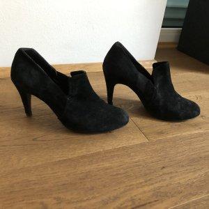 Tolle hohe schwarze Schuhe